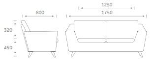 2 Person Sofa Size Humor