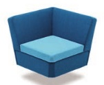 Stretch Soft Seating STRETCHCO - Corner Unit