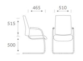 Urban Task Chair Dimensions