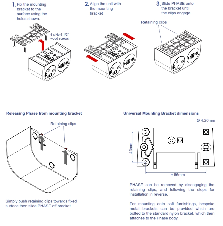Phase Power and Data Module Fitting Instructions