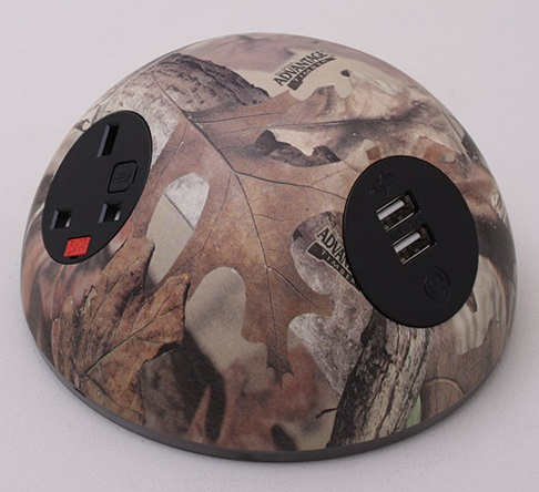 Pluto Desk Top Power Module - Mossy Oak Forest