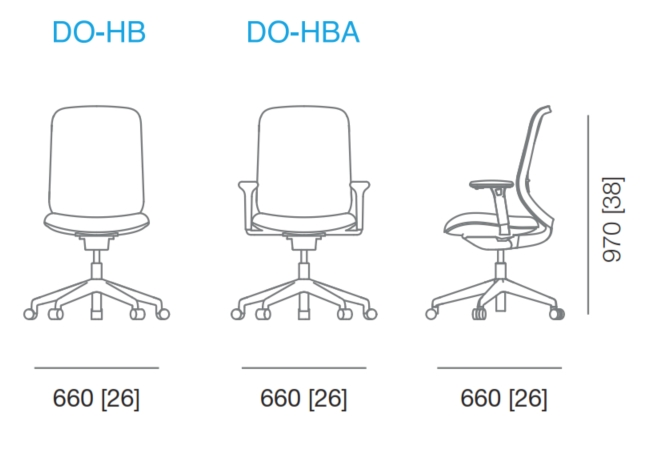 Do Mesh Task Chair Dimensions