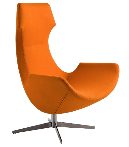 Aria Lounge Chair Image - Star Base