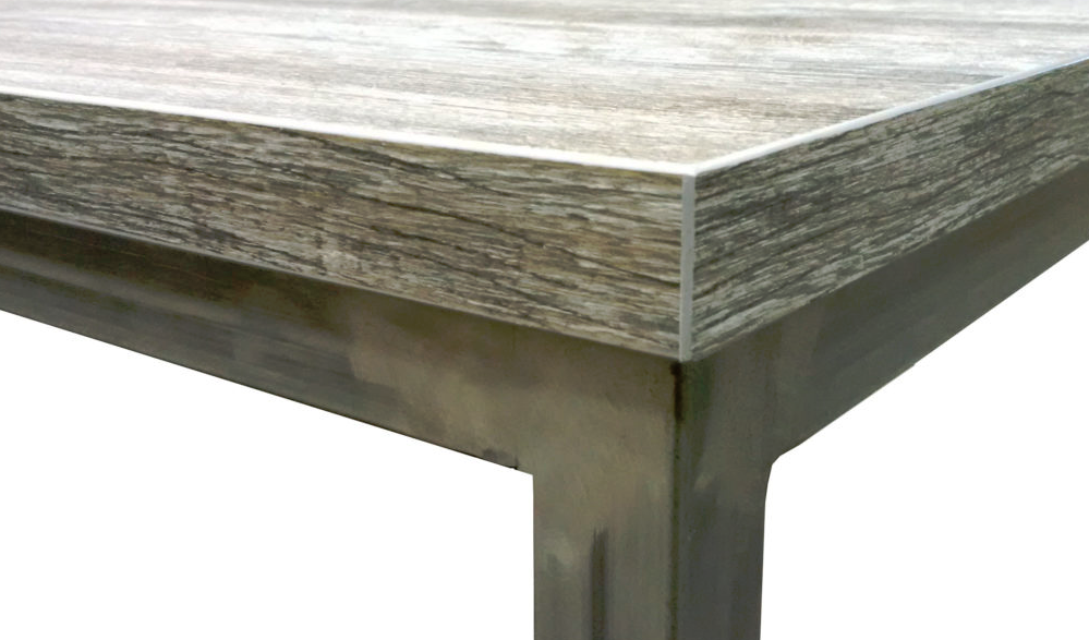Axiom Rustic Table Close up