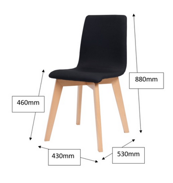 Blaze Chair Dimensions