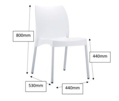 Chicago Breakout Chair Dimensions