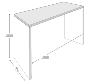Axiom Table & Bench Dimensions