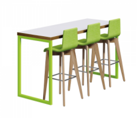 Axiom Table & Bench Poseur Image