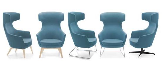 Ikon Lounge Chair Range