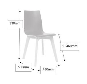 Jinx Chair Dimensions