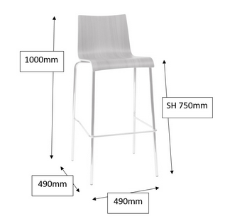 Michigan Breakout Chair Dimensions