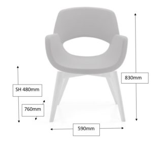 Spekta Chair Dimensions
