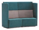 Fifteen High Back Soft Seating | 15-22-CC-AR