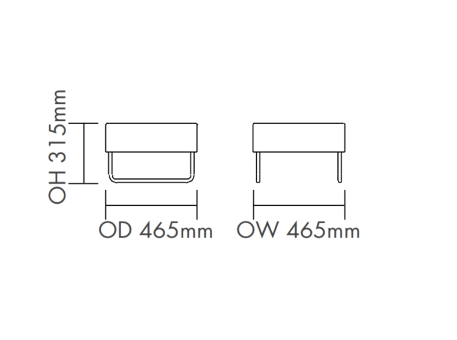 Tommo Chair Dimensions