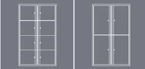Switch Locker door options