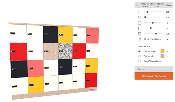 Hot Desk Lockers | Smart Lockers Configurator