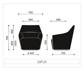 Chic Chair Dimensions