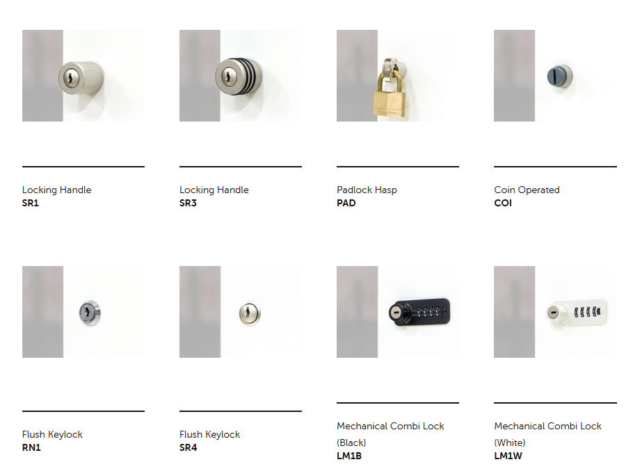 Hotlocker Signature Lock Options