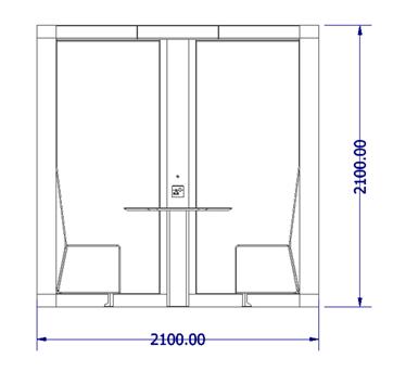 Meeting Box Dimensions