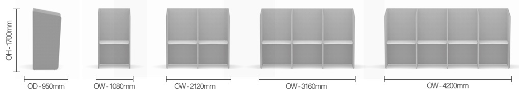 Focus Booth Dimensions