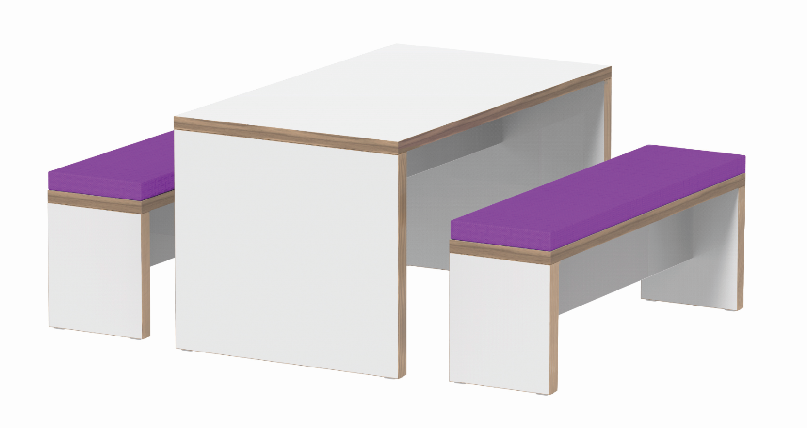 Flok Table & Bench Poser Image