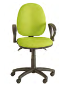Ideal Task Chair Image - Fixed Arms
