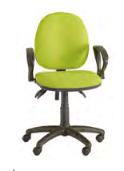 Ideal Task Chair Image - Fixed Arms/Standard Back
