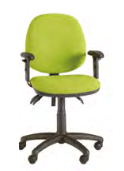 Ideal Task Chair Image - HA Arms/Standard Back