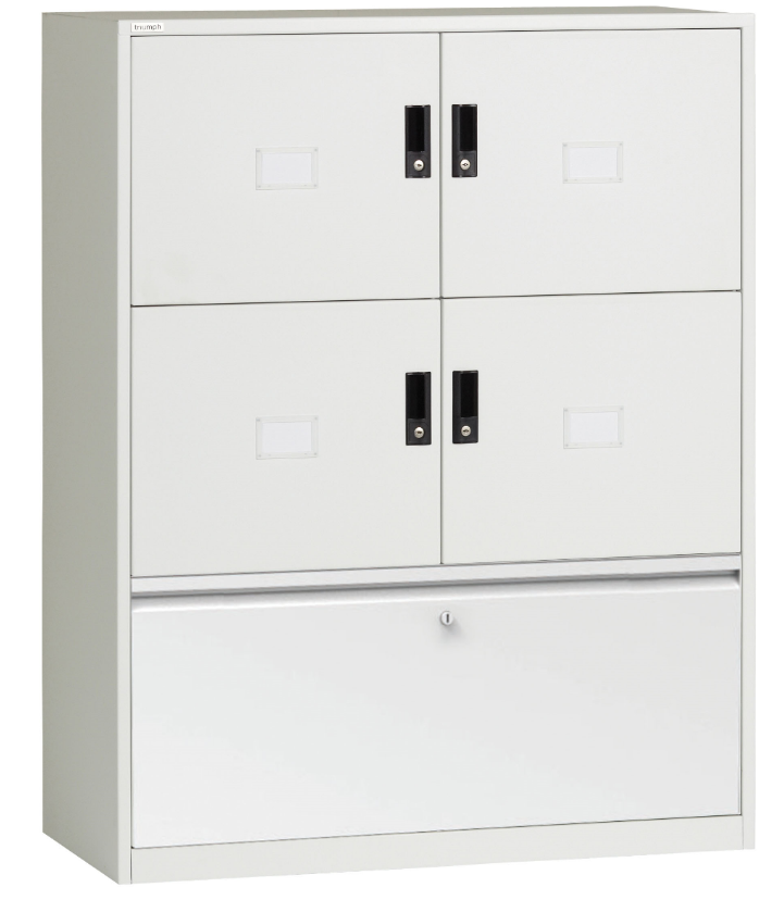 Metrix Hot Desk Lockers with Drawers