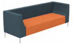 Shush Low Back Soft Seating Image