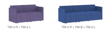 Twlight Modular Seating Example Image