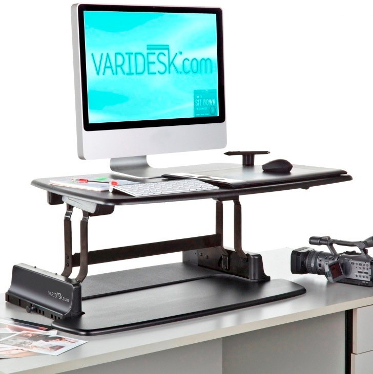 VARIDESK Single - Height Adjustable Desk Platform