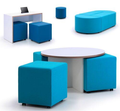 Box-It Modular Seating & Tables